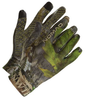 NOMAD NWTF Turkey Gloves for Men - Mossy Oak Obsession - S thumbnail