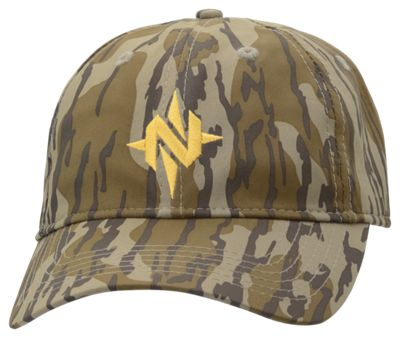 d165357caab00 NOMAD Compass Logo Low Country Cap - Mossy Oak Bottomland