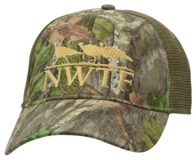 NOMAD NWTF Camo Low Country Trucker Cap – Mossy Oak Obsession
