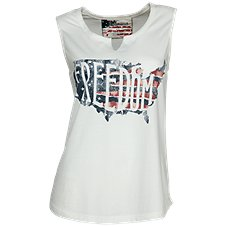 Natural Reflections Freedom Tank Top for Ladies