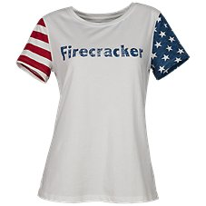 Natural Reflections Firecracker Top for Ladies