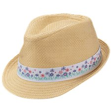 Bass Pro Shops Fedora with Flower Band for Kids