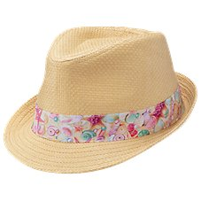 Bass Pro Shops Fedora with Seashell Band for Kids