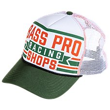 dbeb25b010e Bass Pro Shops Racing 5-Panel Mesh Back Cap