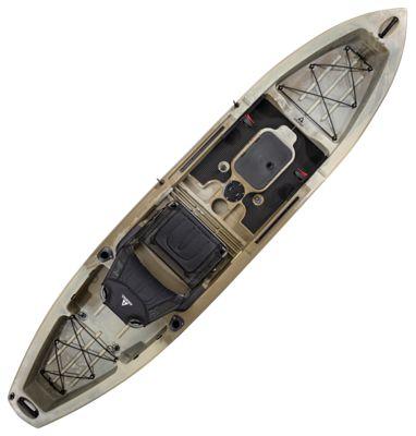 Image of Ascend 12T Sit-On-Top Kayak - Olive/Sand