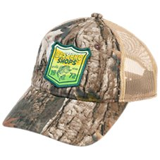 b008a4d9314 Bass Pro Shops 1972 Fish Patch Mesh-Back Cap for Kids