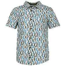 Bass Pro Shops Forest Print Woven Button-Down Shirt for Toddlers or Boys