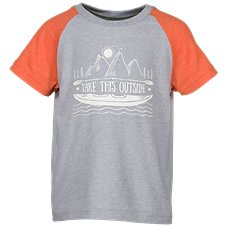 Bass Pro Shops Take This Outside Raglan T-Shirt for Toddlers or Kids