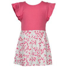 Bass Pro Shops Mini Floral Print Dress for Toddlers or Girls Image