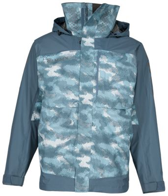 Simms Challenger Jacket for Men – Hex Camo Storm – XL
