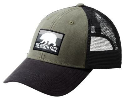 The North Face Patches Trucker Cap New Taupe Green/tnf Black