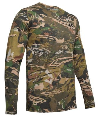 Under Armour Scent Control Camo Live Long-Sleeve Shirt for Men – Ridge Reaper Camo Forest – L