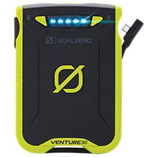 Goal Zero Venture 30 and Nomad 7 Plus Solar Kit