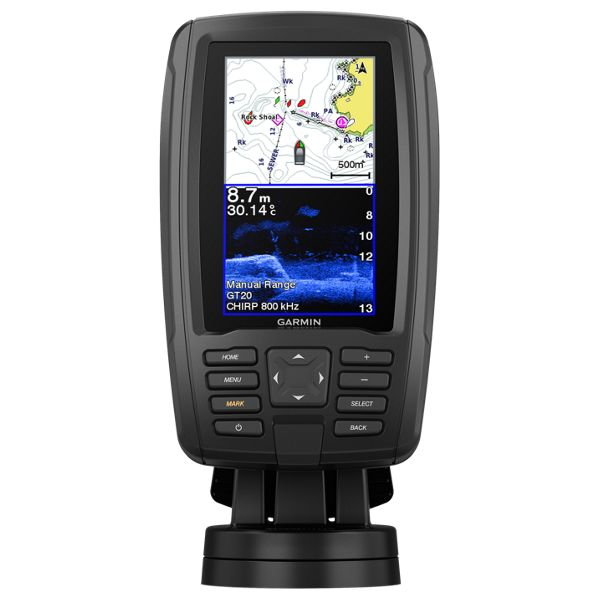 Garmin ECHOMAP Plus 45cv with GT20 Transducer Fish Finder/Chartplotter Combo