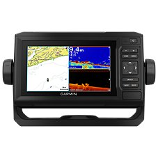 Garmin ECHOMAP Plus 65cv with GT22 Transducer Fish Finder/Chartplotter Combo