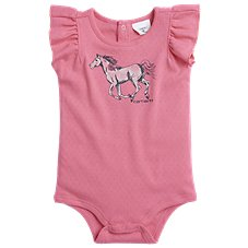 39882994d Carhartt Watercolor Horse Bodysuit for Babies