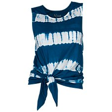 Natural Reflections Tie-Dye Muscle Tank for Ladies
