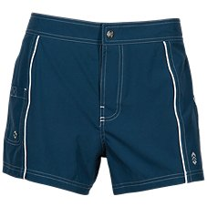Free Country Woven Stretch Swim Shorts for Ladies