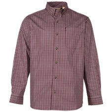 RedHead Wrinkle-Free Long-Sleeve Plaid Shirt for Men Image