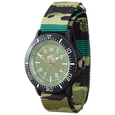 Bass Pro Shops Fast-Strap Watch with Camo Strap for Men