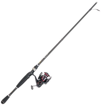 Daiwa Fuego LT/Bass Pro Shops Pro Qualifier 2 Spinning Rod and Reel Combo - FGLT2500D-XH/PQ6L
