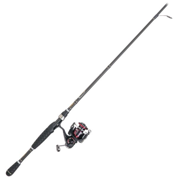 Daiwa Fuego LT/Bass Pro Shops Pro Qualifier 2 Spinning Rod and Reel Combo - FGLT2500D-XH/PQ76MH