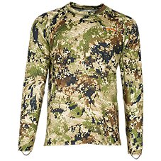 8ebe36fd00bc4 Sitka GORE OPTIFADE Concealment Subalpine Series CORE Lightweight Crew  Long-Sleeve Top for Men