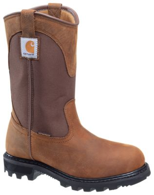 07afb89e936 Carhartt Bison Brown Waterproof Wellington Work Boots for Ladies ...
