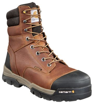 554547e0308 Carhartt Ground Force Waterproof Composite Toe Work Boots for Men ...