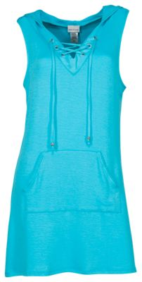 Wearabouts by Dotti Sun Seekers Hooded Swimsuit Cover-Up for Ladies - Scuba - XL
