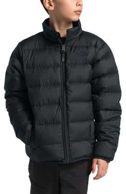The North Face Andes Down Jacket for Boys - TNF Black/TNF Black - L
