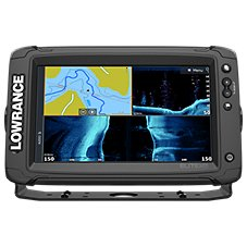 Lowrance Elite-9 Ti2 Fish Finder/Chartplotter with US Inland Charts, No Transducer