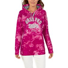 Bass Pro Shops Game Day 1972 Long-Sleeve Hoodie for Ladies Image