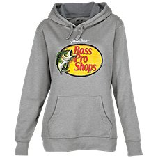 Bass Pro Shops Woodcut Logo Long-Sleeve Hoodie for Ladies Image