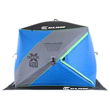 Clam X400 Thermal Hub Ice Shelter