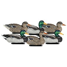 Dakota Decoy X-Treme 1-Piece Painted Mallard Duck Decoys