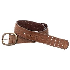 Natural Reflections Ladies' Distressed-Leather Belt