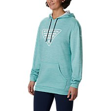 Columbia Tidal Graphic Long-Sleeve Fleece Hoodie for Ladies Image