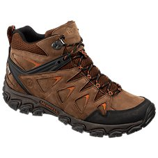 9f8d8869735 Merrell Pulsate 2 Mid Leather Waterproof Hiking Boots for Men