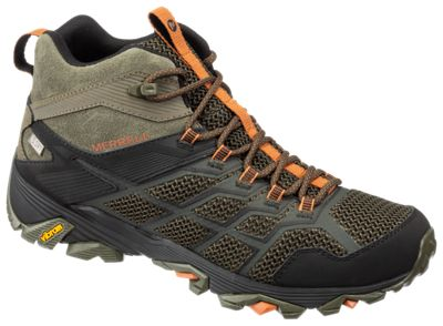 merrell moab fst waterproof low hiking shoes - mens out