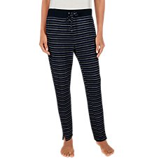 Natural Reflections Stripe Lounge Pants for Ladies