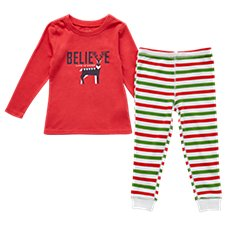 Life is Good Holiday Squad Sleep Set for Toddlers or Kids Image