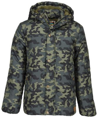 Bass Pro Shops Puffer Coat for Boys – Camo – XS