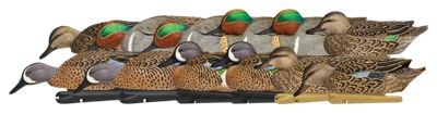 Avian-X TopFlight Teal Duck Decoys with Texas Rigs
