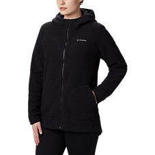 56d3e6ac0e7 Columbia Canyon Point Hooded Sherpa Full-Zip Jacket for Ladies
