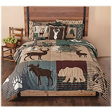 White River Lodge View Collection Bedding Set