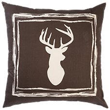 White River Lodge View Collection Decorative Pillow