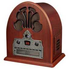 Crosley AM/FM Radio with CD Player and Bluetooth Receiver