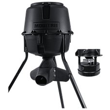 Moultrie 30-Gallon Gravity Tripod Game Feeder with Spinner Kit Combo Image
