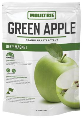 Moultrie Deer Magnet Green Apple Granular Game Attractant